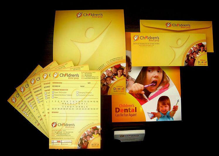 Children's Dental Group Corporate Branding