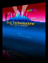 DJ Debonaire Website Design