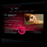 Makeup by Arpi Website Design