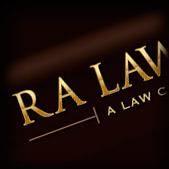 RA Law Group Corporate Logo Design