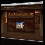 RA Law Group Website Redesign & Development. RALawGroup.com