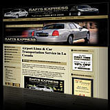 Rafis Express Transportation Services, Limousine Car Service, Website Design & Development. RafisExpress.com