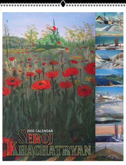 "2010 Calendar - 11x14""<br>Paintings by Seroj Khachatryan"