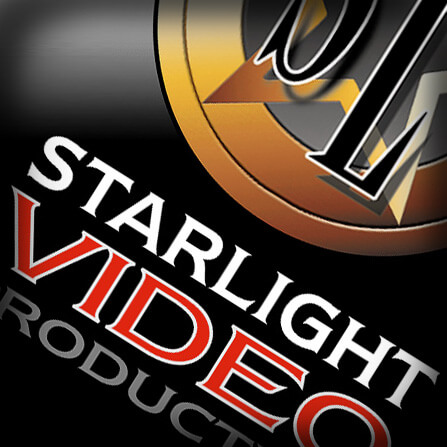 Starlight video production showcase print collateral business business card reheart Images